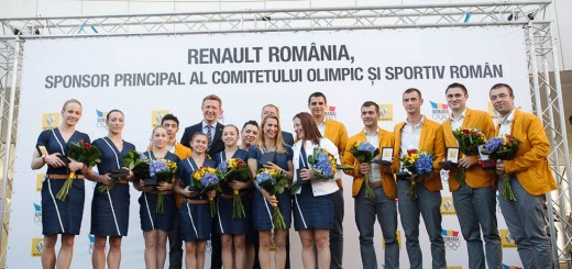 Fotografie de grup_Sportivii medaliati la JO2012