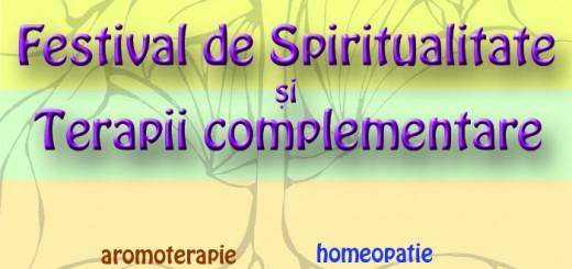 Festivalul de Spiritualitate - afis