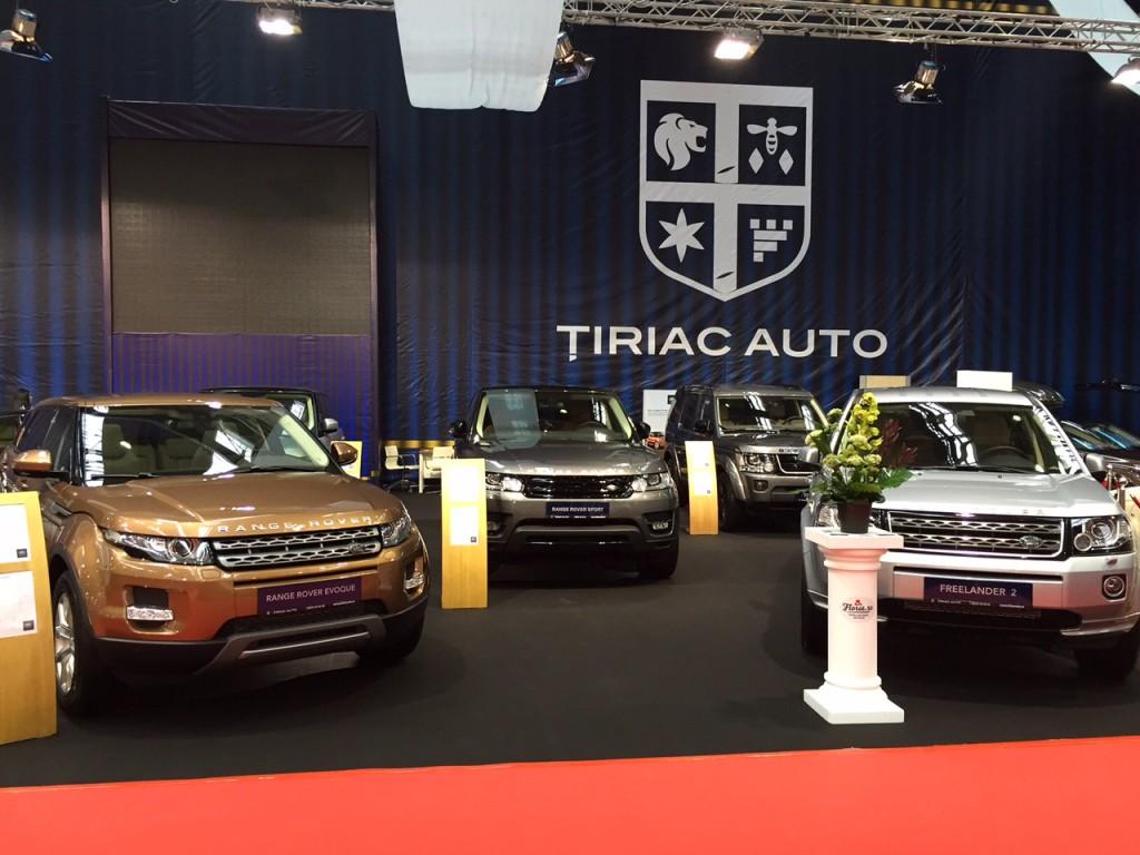 salon auto Land Rover