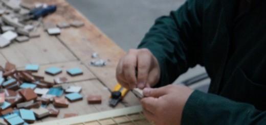 La lucru in Fabrica de Mozaic