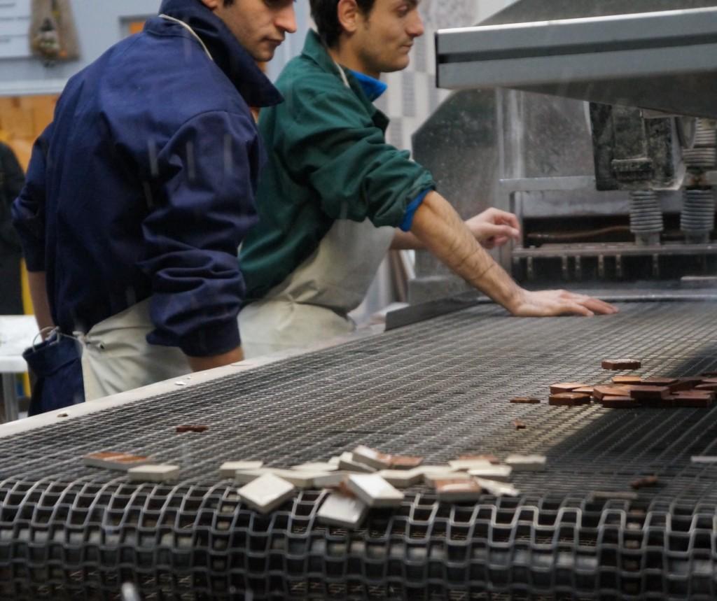 Muca in Fabrica de Mozaic