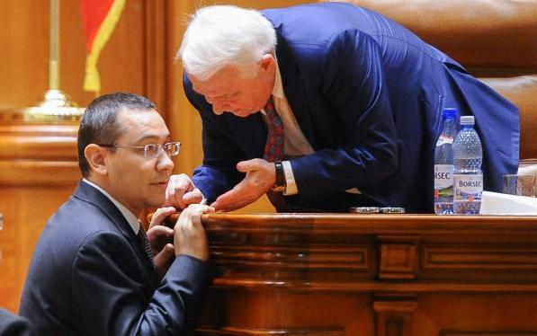 Victor V Ponta si Viorel Hrebenciuc