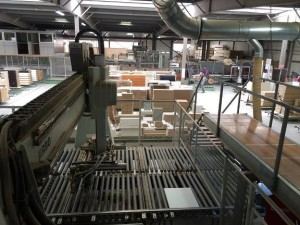 Linie productie din fabrica Lemet din Brebu