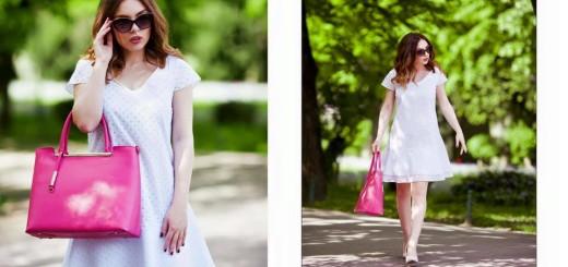 giorgal rochie alba