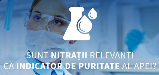 Nitratii - indicator de puritate apa